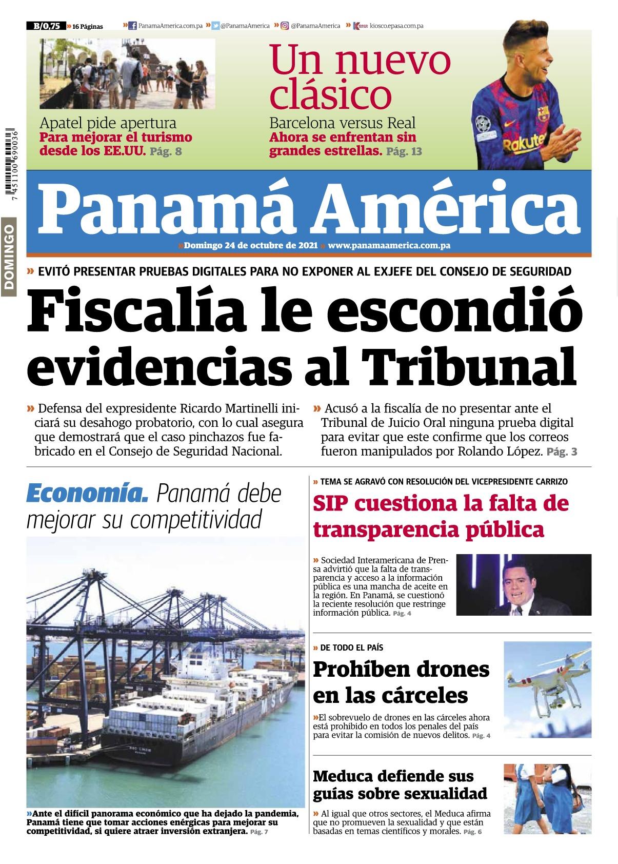 Portada Panamá América