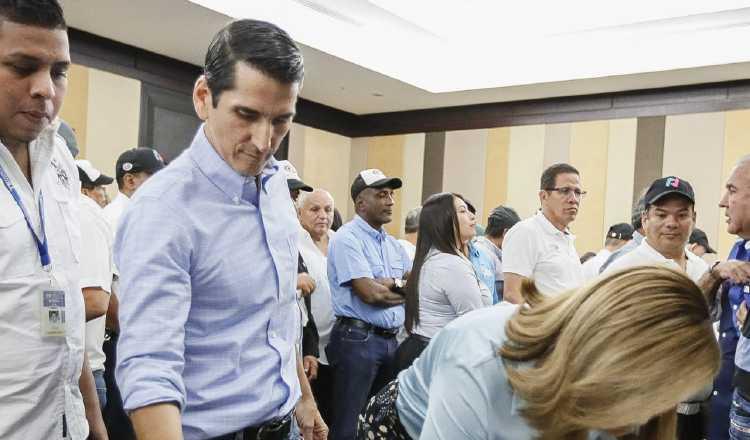 Rómulo Roux será candidato presidencial de CD y Alianza. Víctor Arosemena