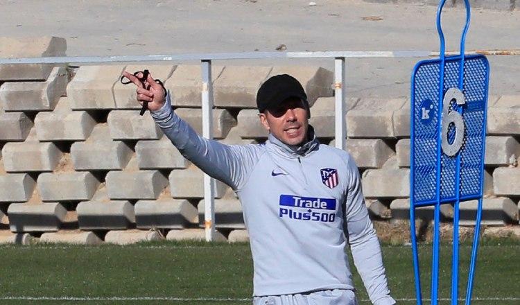 Simeone, DT de Atlético /Foto EFE