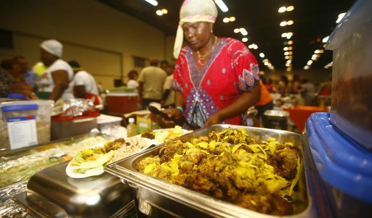 En esta celebración de los afrodescendientes, degustar platillos de esta etnia es apenas una de las numerosas actividades para distraerse sanamente. Foto: Archivo.