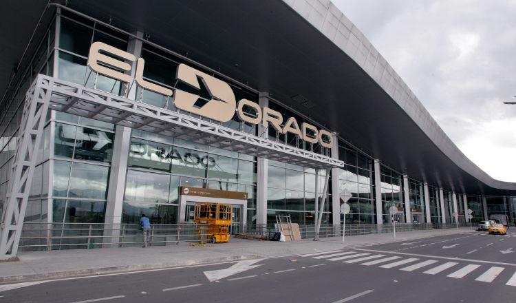 El Dorado, terminal más importante de Bogotá. EFE