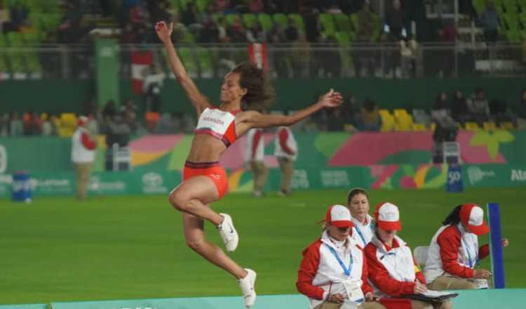Nathalee Aranda en los Juegos Panamericanos. COP