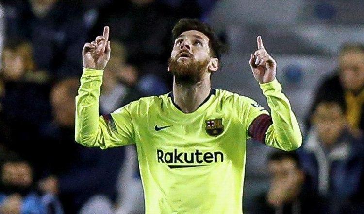 Messi ha jugado toda su vida en el Barcelona. EFE