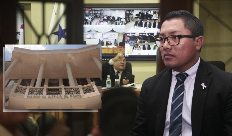 Diputado Arquesio Arias ha sido claro a decir que no se separá del cargo, lo que complica la investigación de la Corte.  Ilustración Panamá América