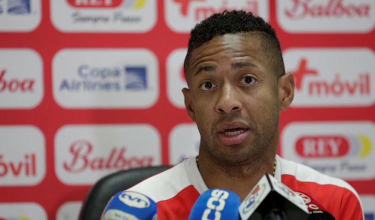 Gabriel Torres aseguró que cambiaría la Copa Sudamericana por clasificar a un mundial. Foto EFE