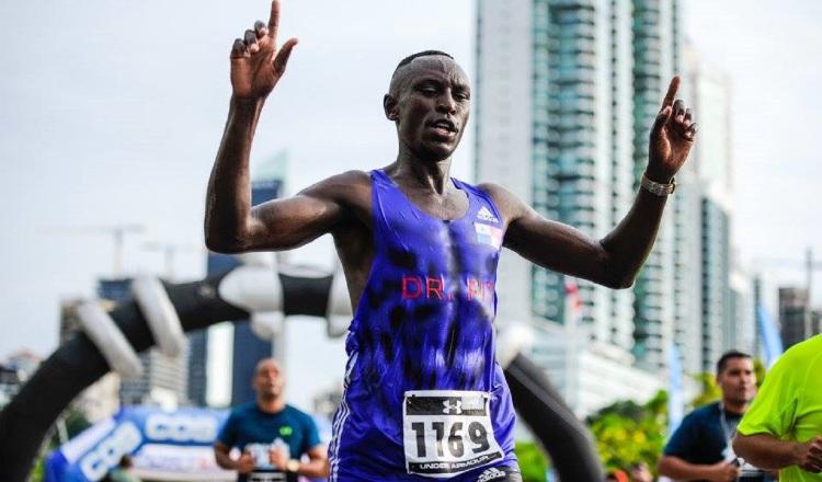 El keniano Joel Kiptanui vuelve a la Maratón de Panamá. Ocupó el cuarto lugar en la edición del año pasado. Archivo