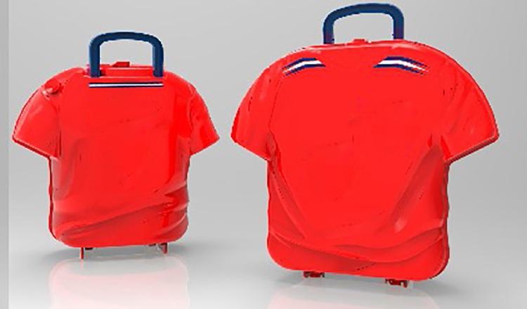 Supuesto modelo de mochila.