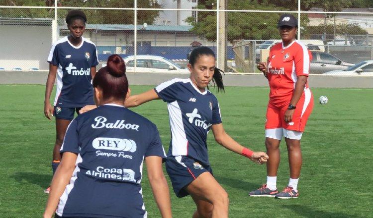 De Mera quiere ser un buen ejemplo para las nuevas jugadoras. Foto Fepafut
