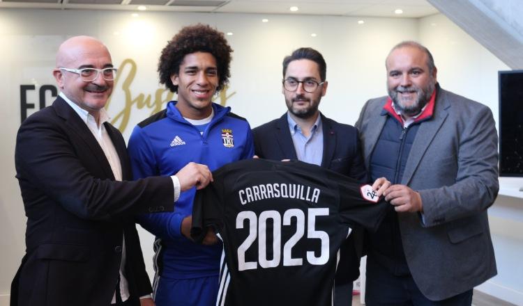 La cláusula de rescisión de Adalberto Carrasquilla costaría más de $10 millones, si el equipo llega a primera división. Cortesía
