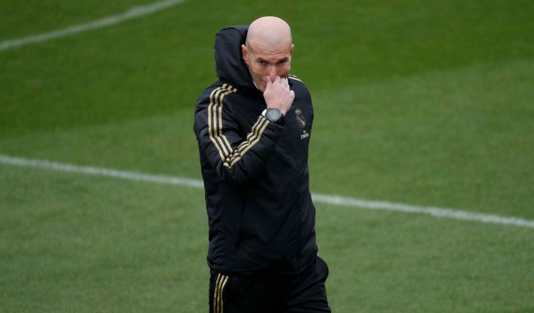 Zidane abogó por Bale.