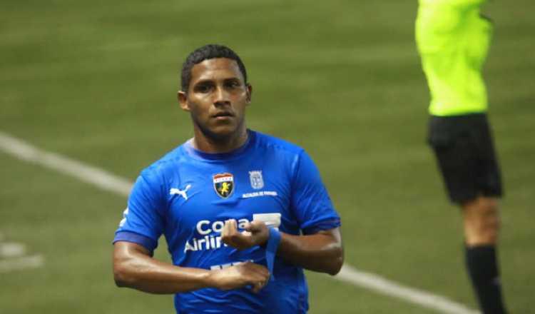 Amir Waithe anotó el primer gol de Plaza Amador en la temporada. Foto Anayansi Gamez