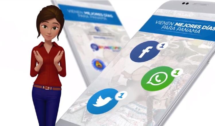 Por ahora la puedes localizar por tres canales de redes sociales.