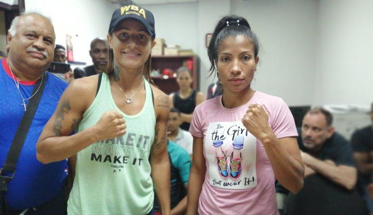 Mayerlin Rivas y Laura Ledezma. Foto:Cortesía