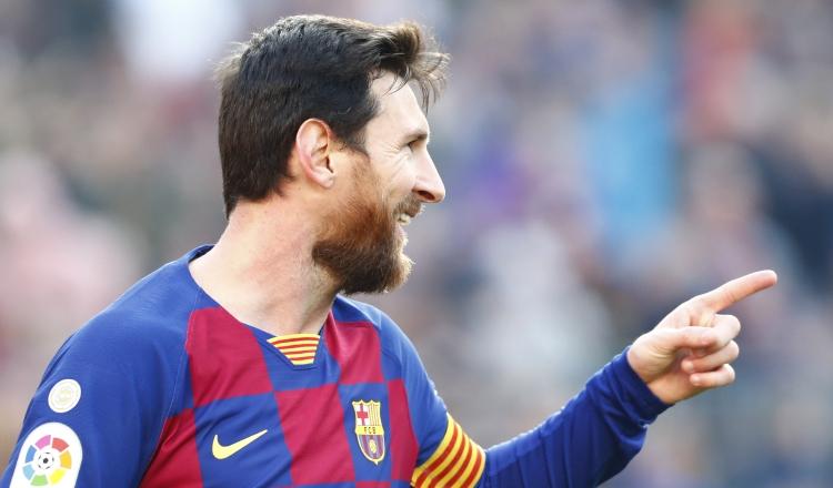 Messi anotó un triplete en el triunfo el Barcelona sobre Eibar.