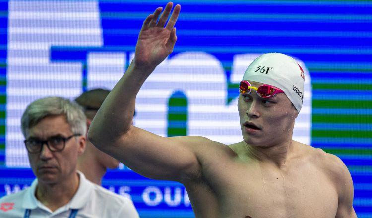 Yang Sun es una estrella de la natación china. EFE