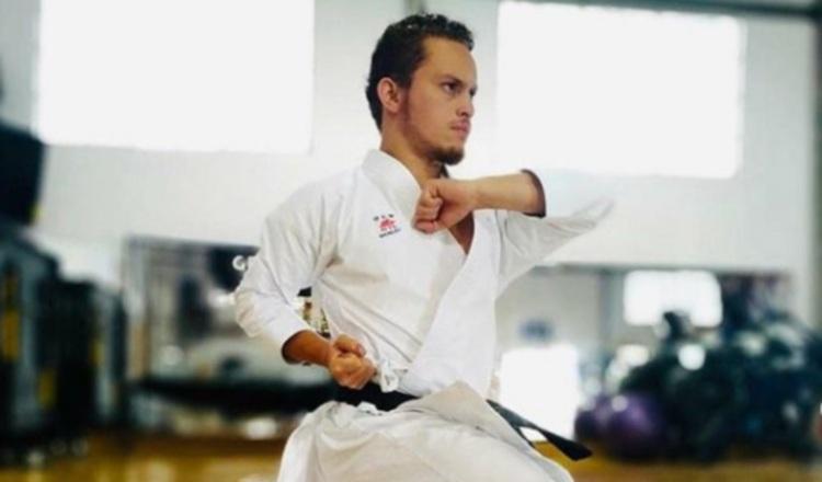 Cención es el principal referente del karate panameño. Cortesía