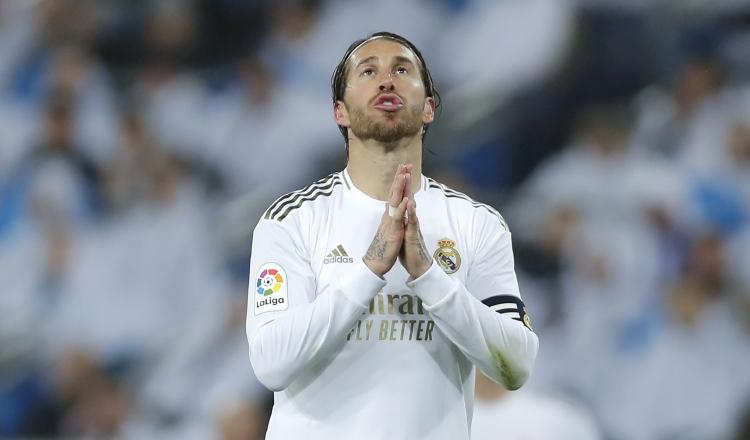 Sergio Ramos. Foto:EFE