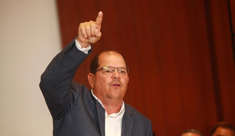 Manuel Arias, presidente de la Fepafut. Foto Anayansi Gamez
