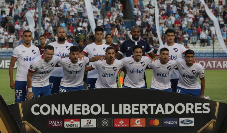 El portero panameño Luis Mejía con Nacional. Foto: EFE