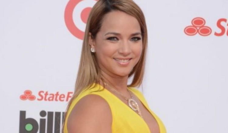 Adamari López. Actriz, conductora del programa