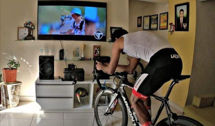 Christopher Jurado no ha descuidado su preparación para los Juegos de Tokio. Foto:@Fepaci