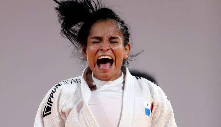 Kristine Jiménez de judo. Foto: Cortesía