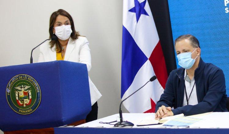 La ministra Maruja Gorday de Villalobos informó que a los estudiantes se les reconocerá el tiempo invertido en los aprendizajes virtuales, una vez comience a regir el nuevo calendario escolar. Cortesía