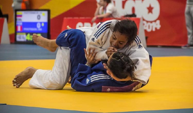 Kristin Jiménez del judo. Foto: Archivo