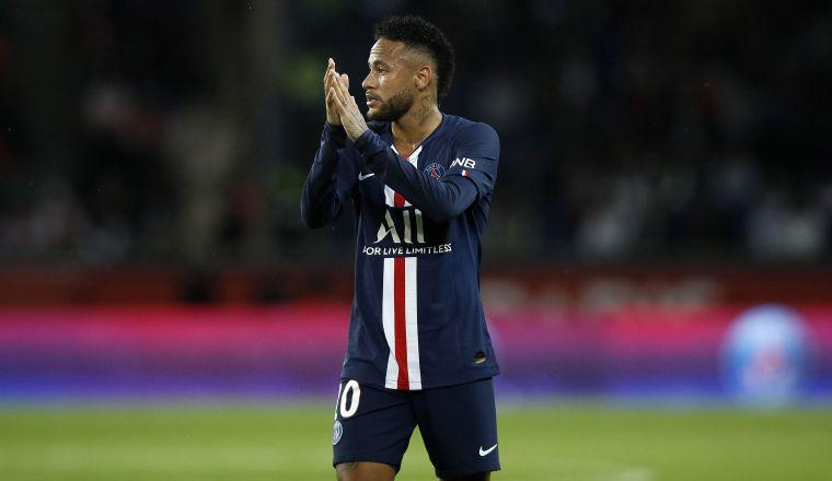 Neymar juega en el PSG  Foto: AP