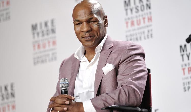 Mike Tyson. Foto:AP