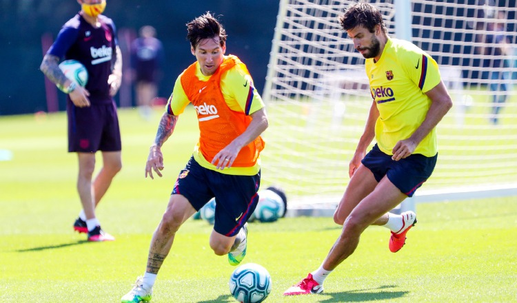 Messi y Suárez estarán listo para regresar a la cancha. Foto: AP