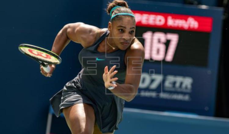 Serena Williams. Foto:EFE