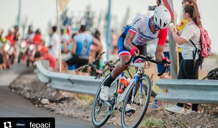 Christopher Jurado ciclista panameño. Foto:EFE