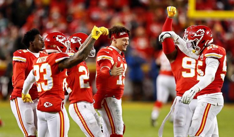 Los chiefs son los actuales campeones de la NFL Foto: EFE