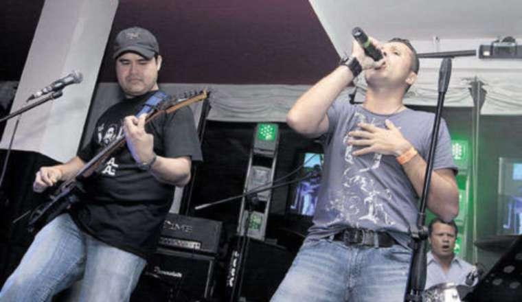 Chad Valdés, vocalista de la banda Dialecto. Cortesía