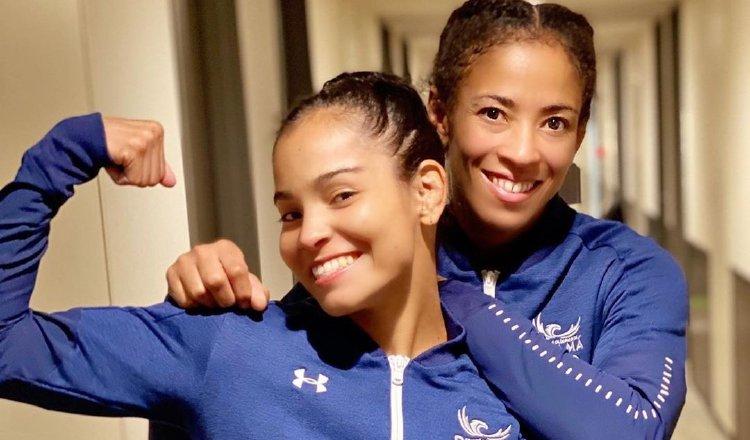 Kristine Jimémez y Miryam Rooper, judocas panameñas. Foto:COP
