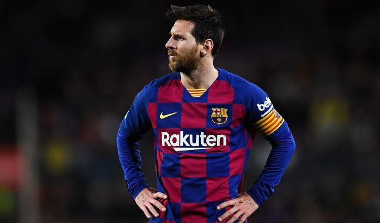 Lionel Messi pidió su carta de libertad al Barcelona. Foto:EFE