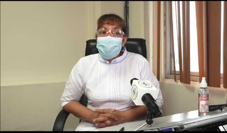 Mgtr. Doris Blandón, jefa nacional de Enfermería de la CSS