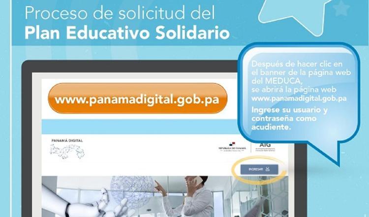 El beneficio del Plan Educativo Solidario se activará a partir del 14 de septiembre a todos los estudiantes registrados.