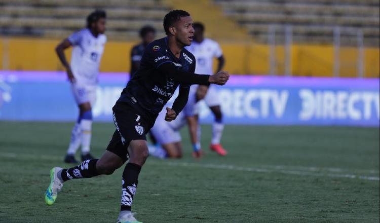 Gabriel 'Gaby' Torres lleva 12 goles anotados en el torneo ecuatoriano. Foto:@IDV_EC