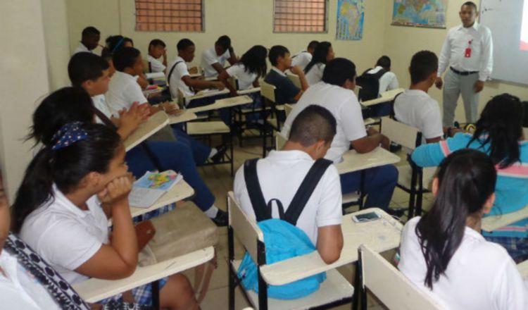 Se evalúa que el próximo año los estudiantes retornen a las aulas.