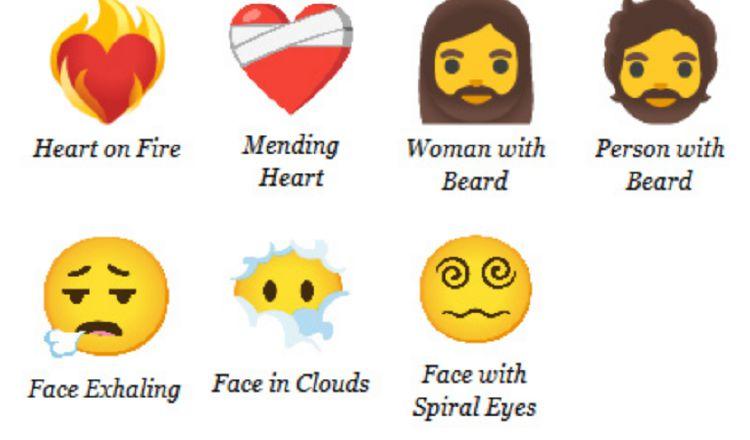Serán 7 nuevos emojis que se estrenarán en 2021.