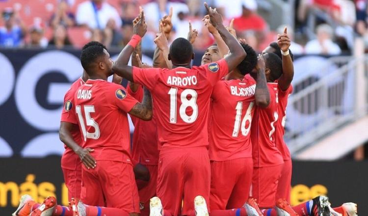 Los panameños han dejado buenas sensaciones en los torneos Copa Oro. Foto:Fepafut