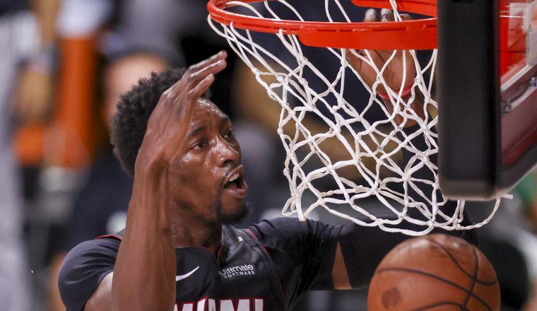 Bam Adebayo de Miami Heat. Foto:EFE