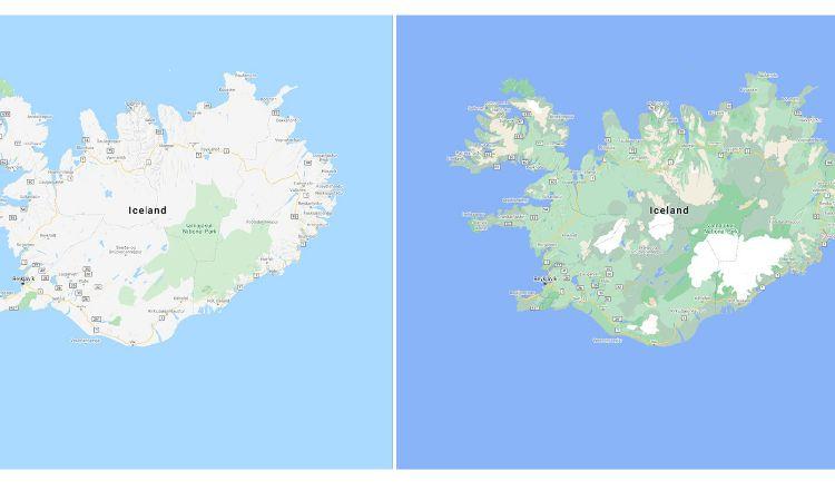 La imagen muestra las diferencias entre los colores.