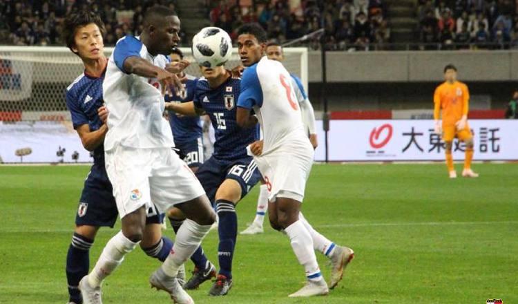 Panamá enfrentó a Japón en el 2018. Foto:@Fepafut