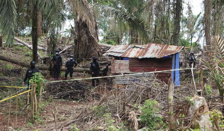 La operación inició en la provincia de Panamá Oeste en Burunga, Arraiján, cerca de la Cuenca Hidrográfica.