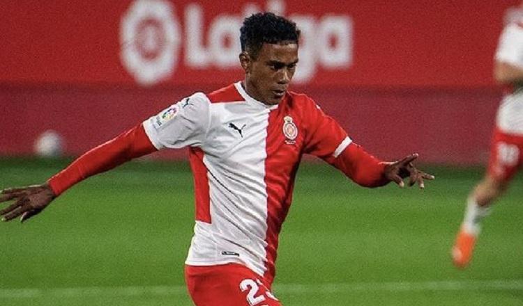 El Girona donde juega Yoel Bárcenas se impuso al Cartagena por 2-1 en la Segunda División de España. Foto: