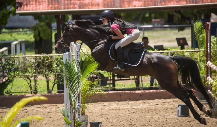 Isabella Cuevas participa en la categoría infantil. Foto:Cortesía