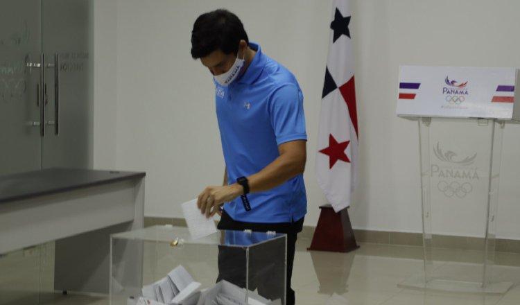 Las elecciones se realizaron ayer en la sede del COP. Foto:@COP